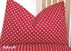 Kinderbettwäsche Polka Dots rot