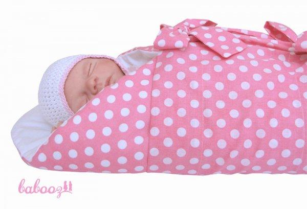 Pucktuch Polka Dots rosa