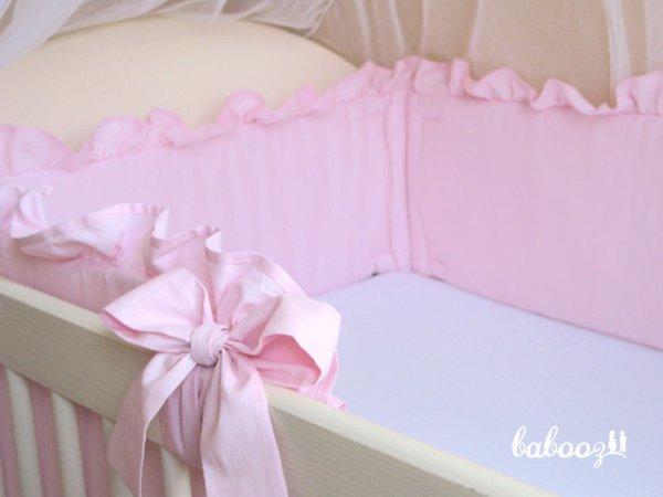 Nestchen mit Rüsche rosa