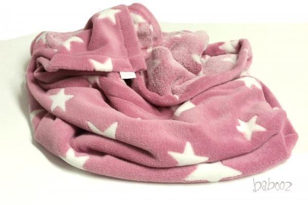 Babydecke / Kuscheldecke Fleece Star