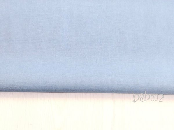 Baumwollstoff hellblau uni