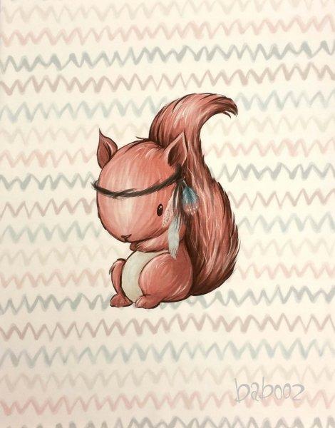 Panel Eichhörnchen