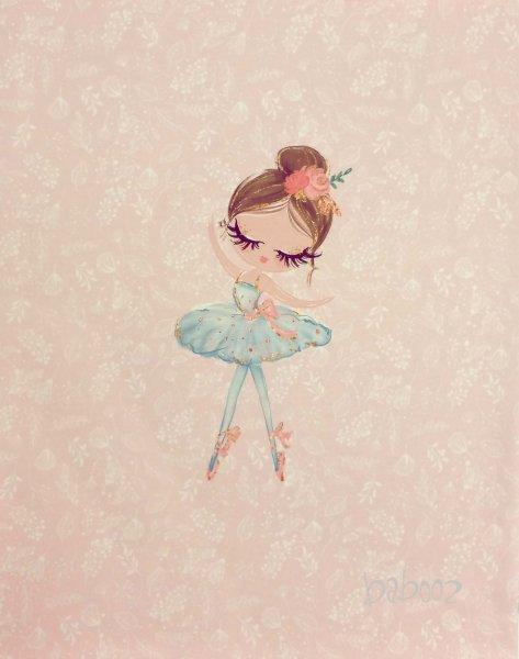 Panel Ballerina rosa