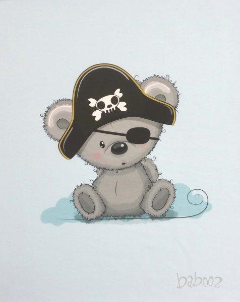 Panel Teddybär - Pirat