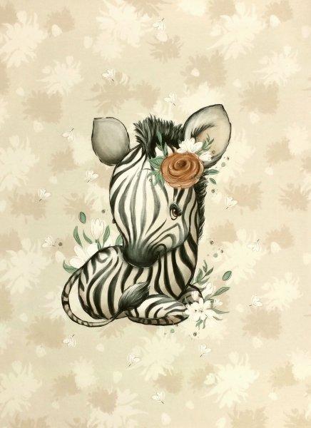 Panel Baby Zebra beige
